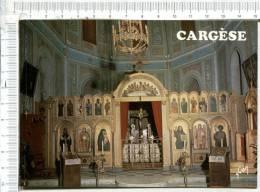 CARGESE - La Splendeur Paisible Du Choeur De L Eglise Grecque Aux Icones Enluminées - Autres Communes
