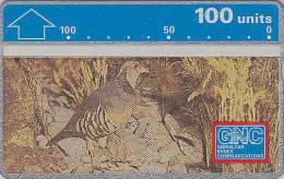 Télécarte L&G NEUVE GIBRALTAR - Oiseau PERDRIX - PARTRIDGE Bird MINT Phonecard - REBHUHN Vogel Telefonkarte - 2246 - Gibraltar