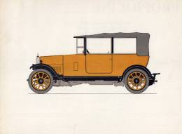 LABORATOIRES ROUSSEL    HISTOIRE DE L' AUTOMOBILE    Humber 11.4. 1924. GRANDE-BRETAGNE. (V 2) - Picture Cards