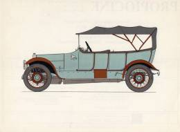 LABORATOIRES ROUSSEL    HISTOIRE DE L' AUTOMOBILE    Argyll 15/30 .1914. ECOSSE  (V 3) - Picture Cards
