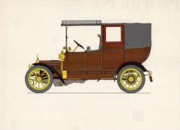 LABORATOIRES ROUSSEL    HISTOIRE DE L' AUTOMOBILE    Adler 12 .1911.  ALLEMAGNE (V 5) - Picture Cards