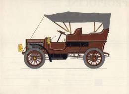 LABORATOIRES ROUSSEL    HISTOIRE DE L' AUTOMOBILE    White 15 Steam Car .1905. ETATS-UNIS (V 7) - Picture Cards