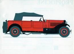 LABORATOIRES ROUSSEL    HISTOIRE DE L' AUTOMOBILE    Lancia Dilambda .1930. ITALIE  (V 8) - Picture Cards
