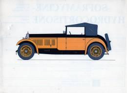 LABORATOIRES ROUSSEL    HISTOIRE DE L' AUTOMOBILE  Alfa-Roméo 17 95  .1930.  ITALIE  ( V12) - Picture Cards