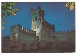 B3100 Montagnana (Padova) - Panorama Delle Mura - Notturno / Viaggiata 1980 - Italia
