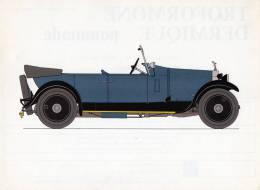 LABORATOIRES ROUSSEL    HISTOIRE DE L' AUTOMOBILE  Rolls Royce 20 .1927.  GRANDE-BRETAGNE  ( V13) - Picture Cards