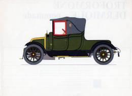 LABORATOIRES ROUSSEL    HISTOIRE DE L' AUTOMOBILE  Renault 12 16 .1910.   FRANCE  ( V15) - Picture Cards