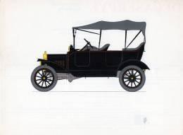 LABORATOIRES ROUSSEL    HISTOIRE DE L' AUTOMOBILE  Ford Modèle T .1915.  ETATS-UNIS  ( V18) - Picture Cards