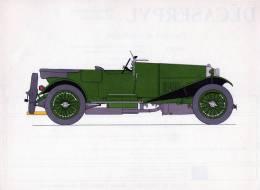LABORATOIRES ROUSSEL    HISTOIRE DE L' AUTOMOBILE   Bentley 3 Litres .1926.  GRANDE-BRETAGNE( V19) - Picture Cards