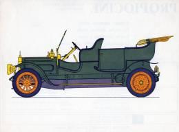 LABORATOIRES ROUSSEL    HISTOIRE DE L' AUTOMOBILE   Albion .1910. ECOSSE   ( V21) - Picture Cards