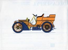 LABORATOIRES ROUSSEL    HISTOIRE DE L' AUTOMOBILE  Mercédès .1903.  ALLEMAGNE   ( V22) - Picture Cards