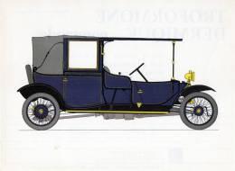 LABORATOIRES ROUSSEL    HISTOIRE DE L' AUTOMOBILE.    Lanchester 28. 1910.  GRANDE-BRETAGNE  ( V25) - Picture Cards