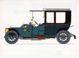 LABORATOIRES ROUSSEL    HISTOIRE DE L' AUTOMOBILE.    Delaunay-Belleville. 1912.   FRANCE ( V26) - Picture Cards