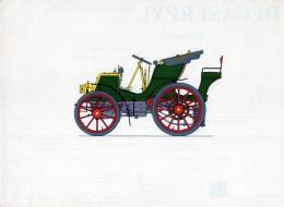 LABORATOIRES ROUSSEL    HISTOIRE DE L' AUTOMOBILE      Panhard-Levassor. 1898. FRANCE.  (V28) - Picture Cards