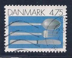 Denmark, Scott # 943 Used Silver Cutlery, 1991 - Denmark