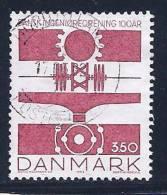 Denmark, Scott # 957 Used Engineer's Society, 1992 - Denemarken