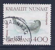 Greenland, Scott # 233 Used Seal, 1991 - Groenland