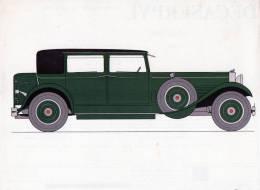 LABORATOIRES ROUSSEL    HISTOIRE DE L' AUTOMOBILE      Stutz 36 4. 1929. U.S.A.  (V29) - Fiches Illustrées