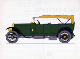 LABORATOIRES ROUSSEL    HISTOIRE DE L' AUTOMOBILE  Sizaire-Berwick. 1914. FRANCE.  ( V32) - Picture Cards