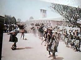 CAMERUN CAMEROON  NKWEN FUTRU CATTOLICA MISSIONE DANZA DANCE BAMBINI CHILDREN   N1990  EF14922 - Camerun