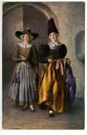 Gröden, 2 Frauen Beim Kirchgang, Tracht, Trachten, Costume, Südtirol, Amonn  Q 18989 N - Non Classés