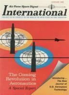 Air Force / Space Digest - INTERNATIONAL - JANUARY 1965 -  (3288) - Revistas & Periódicos