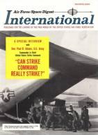Air Force / Space Digest - INTERNATIONAL -  MARCH 1965 -  Président LYNDON JOHNSON - Avions - Bâteaux - Fusées   (3289) - Magazines & Papers