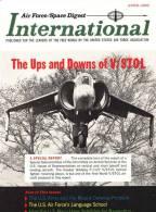 Air Force / Space Digest - INTERNATIONAL - APRIL 1965 - Espace - Avions - Fusées   (3290) - Magazines & Papers