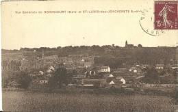 24 - Vue Générale De NONANCOURT Et ST-LUBIN-des-JONCHERETS - France