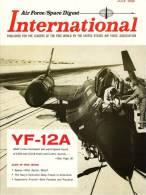 Air Force / Space Digest - INTERNATIONAL - JULY 1965  - Hélicopteres - Avions - Fusées - Espace -  (3293) - Revistas & Periódicos