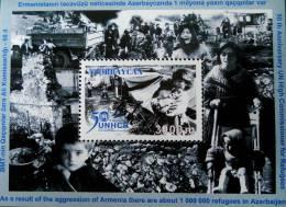 HAUT COMMISARIAT AUX REFUGIES 2001 - NEUF ** - YT BL 51 - MI BL 45 - Azerbaïdjan