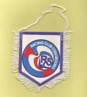 *  Fanion Sportif : Football :  RACING CLUB STRASBOURG  : R C S    - Voir Les 2 Scans - - Habillement, Souvenirs & Autres