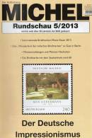 MICHEL Briefmarken Rundschau 5/2013 Neu 5€ New Stamp Of The World Catalogue And Magacine Of Germany ISBN 4 194371 105009 - Other