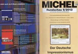 MICHEL Briefmarken Rundschau 5/2013 Neu 5€ New Stamps Of The World Catalogue Magacine Of Germany ISBN 4 194371 105009 - Alemania