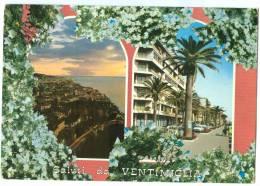 Italy, Saluti Da VENTIMIGLIA, 1973 Used Postcard [13884] - Imperia