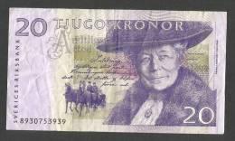 Bank Of SWEDEN - 20 Kronor - S. Lagerlof - Svezia