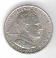MONACO 1/2 FRANCO 1968 - Monaco