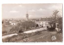 CPSM ARROMANCHES - Vue Sur Le Quartier De L'Eglise - Automobile -Editions Eldé - Arromanches
