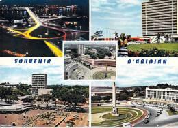Afrique-SOUVENIR D´ABIDJAN - Côte-d´Ivoire (B) Multi Vues ( Hôtel Ivoire, La Nuit, Vue Aérienne..)*PRIX FIXE - Côte-d'Ivoire