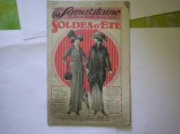 LA SAMARITAINE CATALOGUE SOLDES D'ETE 1913 40 PAGES - Publicités