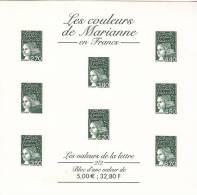 Bloc Les Couleurs De Marianne - Postal Stamped Stationery