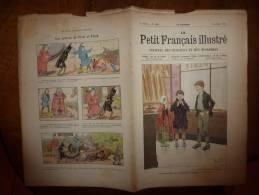 1902 Le Petit Français Illustré :GAVROCHE;La PIE; Interdit De Tuer Les Hirondelles; Un Poêle à Froid Pour Faire Du Froid - Livres, BD, Revues