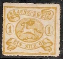 ALEMANIA 1853/65 (BRUNSWICK) - Yvert #11 - Mint No Gum (*) - Brunswick