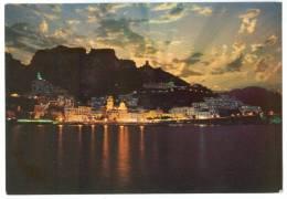 Italy, AMALFI, Notturno, By Night, Unused Postcard [13900] - Salerno