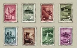 Hungary 1947. Aviation Complete Set MNH (**) Michel: 963-970 / 12 EUR - Vliegtuigen