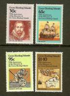 COCOS ISLANDS 1984 MNH Stamp(s) Discovery 375 Years 119-122 - Cocos (Keeling) Islands
