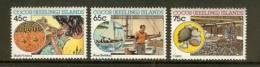 COCOS ISLANDS 1987 MNH Stamp(s) Handycrafts 177-179 - Cocoseilanden