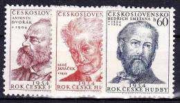 ** Tchécoslovaquie 1954 Mi 864-6 (Yv 768-70), (MNH) - Nuovi