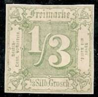 ALEMANIA 1862/64 (ESTADO DEL SUR) - Yvert #15 - MLH * - Tour Et Taxis