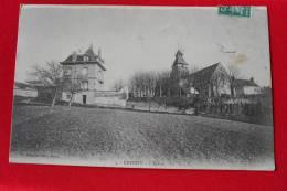 28 - CHERISY - 1909 - L' Eglise - N° 4  / FOUCAULT EDIT DREUX - France